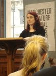 Lynsey May reading at Bugged Launch in Manchester