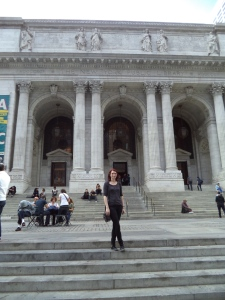 Lynsey May at NYC Library